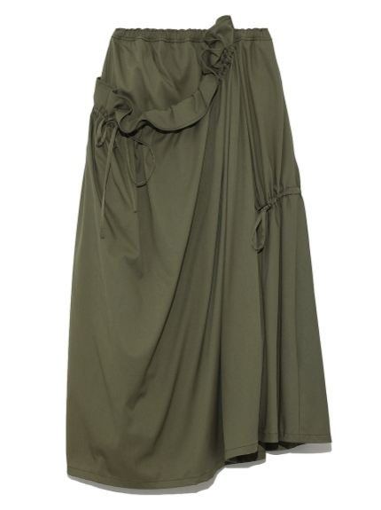 【emmi atelier】ボリュームデザインスカート