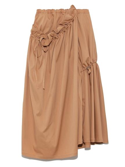 【emmi atelier】ボリュームデザインスカート(BRW-0)