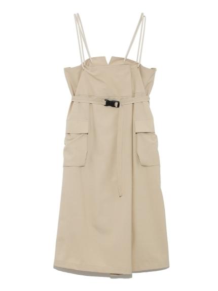 【emmi atelier】ハイウエストジャンプスカート