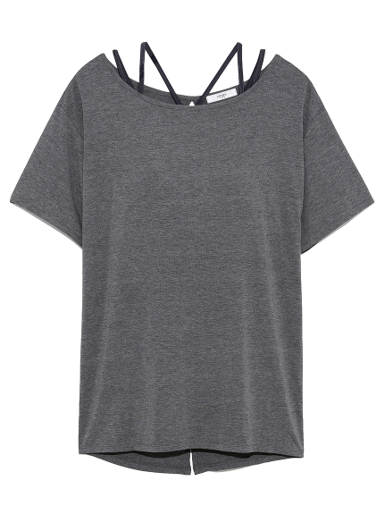 【emmi yoga】ブラセットTシャツ
