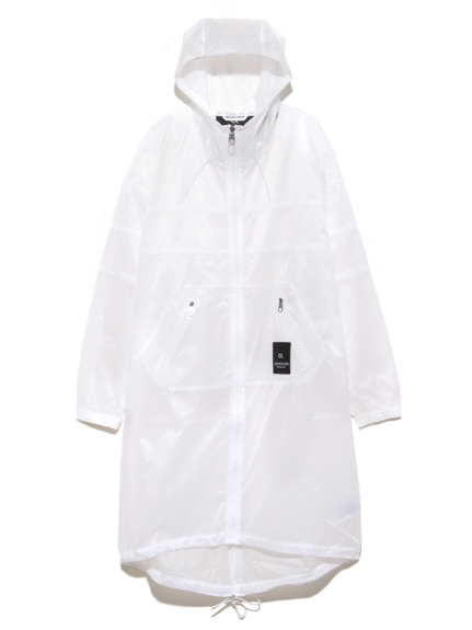 【Calvin Klein】X Ray Hooded Wind Jacket